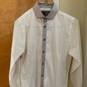 Express limited edition fitted dress shirt